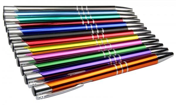 Metall Kugelschreiber KING inkl. Laser-Gravur
