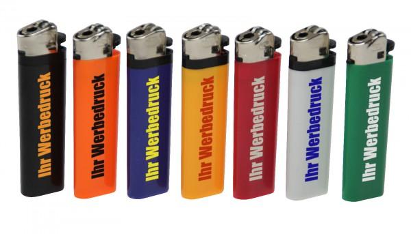 Feuerzeug mit REIBRAD inkl. 1-farbigen Druck